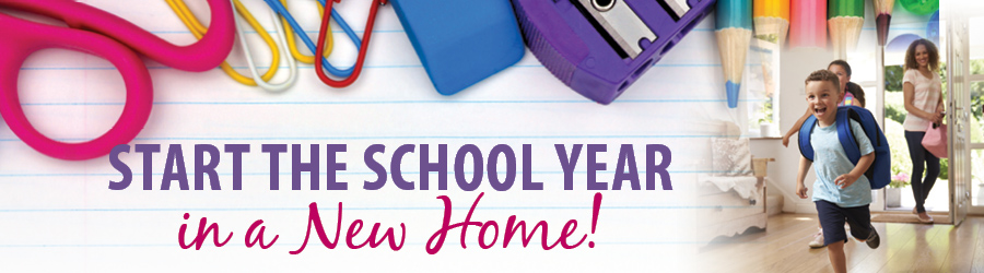 Start the school year in a new home