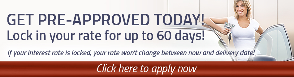 Get pre-approved today, and lock in your rate for 60 days.
